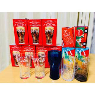 コカコーラ(コカ・コーラ)の未使用 グラス 11点(グラス/カップ)