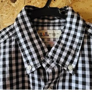 サンバレー(SUNVALLEY)のSUN VALLEY  SAIL シャツ二枚セット ギンガムチェック ブラウス(シャツ/ブラウス(長袖/七分))