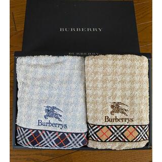 BURBERRY - Burberryフェイスタオルセット