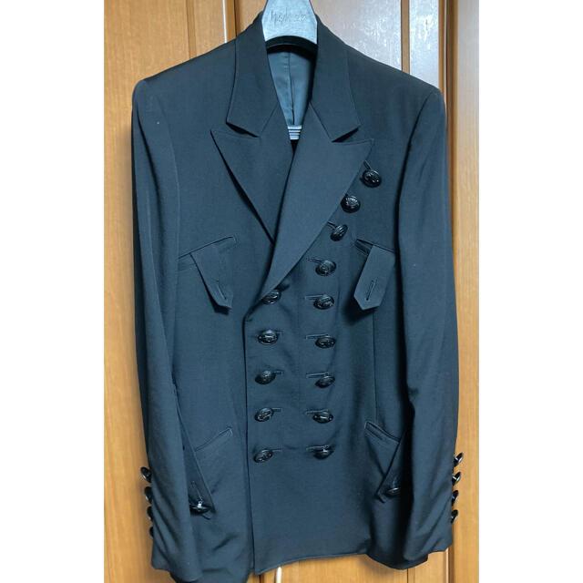 Yohji Yamamoto(ヨウジヤマモト)のYohji Yamamoto 19aw LOOK34 セットアップ メンズのジャケット/アウター(テーラードジャケット)の商品写真