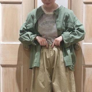 SM2 - Samansa Mos2 ノーカラーシャツジャケット