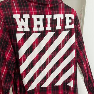 OFF-WHITE - OFF WHITE オフホワイトメンズシャツ
