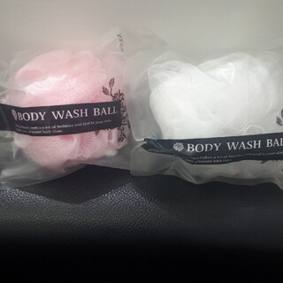 洗顔ネット ボディウォッシュボール アメニティ(洗顔ネット/泡立て小物)