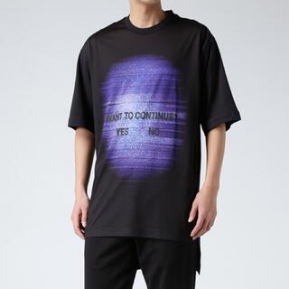 ワイスリー(Y-3)の【美品】Y-3 ワイスリー TV CONTINUE T-SHIRT(Tシャツ/カットソー(半袖/袖なし))