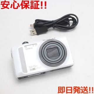 カシオ(CASIO)の美品 EX-ZR200 ホワイト (コンパクトデジタルカメラ)