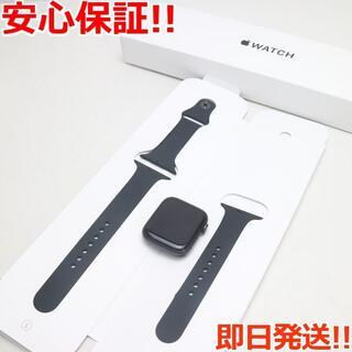 アップル(Apple)の新品同様 Apple Watch SE GPS 44mm  スペースグレイ(その他)
