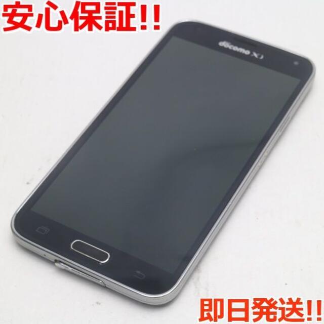 Galaxy(ギャラクシー)の美品 SC-04F GALAXY S5 チャコールブラック  スマホ/家電/カメラのスマートフォン/携帯電話(スマートフォン本体)の商品写真