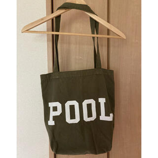 FRAGMENT - THE POOL AOYAMA トートバッグ カーキ