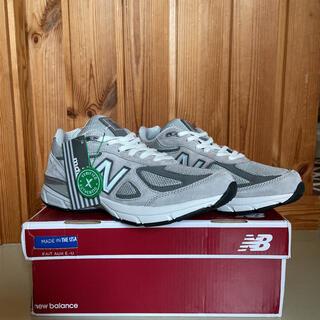 ニューバランス(New Balance)の【新品】【廃盤 】New balance 990 v4 26.5cm グレー(スニーカー)