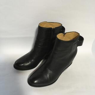エムエムシックス(MM6)のMM6 メゾンマルジェラ ショートブーツ 38 インヒール シューズ ブーツ(ブーツ)