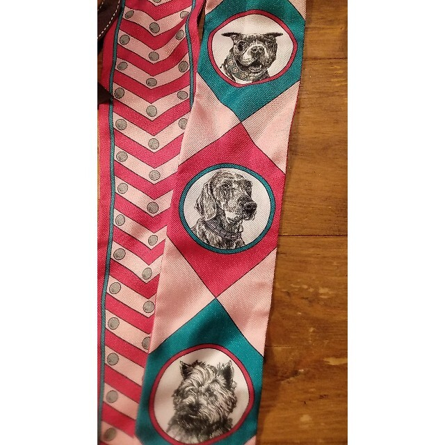 Hermes(エルメス)のエルメスツイリーコリエエシアン ハンドメイドのファッション小物(スカーフ)の商品写真