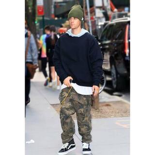 フィアオブゴッド(FEAR OF GOD)のJustin Bieber着用 Rhude Cargo Pants カーゴパンツ(ワークパンツ/カーゴパンツ)