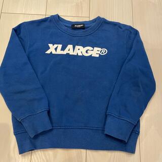 エクストララージ(XLARGE)のエクストララージ トレーナー キッズ 120cm(Tシャツ/カットソー)
