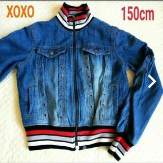 キスキス(XOXO)のXOXO デニムジャケット ジージャン アウター 150cm(ジャケット/上着)