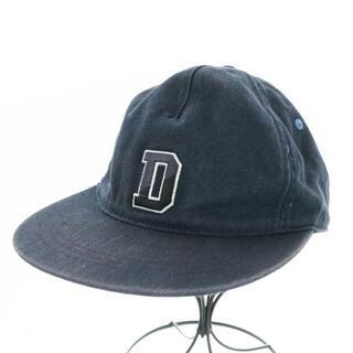 ディーゼル(DIESEL)のディーゼル  帽子 キャップ 野球帽 ロゴ ワッペン デニム 2 M 紺(キャップ)