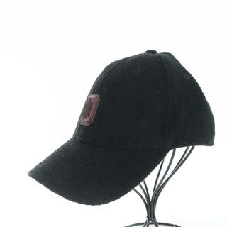 ディーゼル(DIESEL)のディーゼル 帽子 キャップ 野球帽 ボア ウール アンゴラ混 M 黒(キャップ)