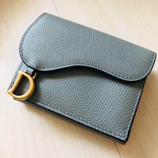 ディオール(Dior)のクリスチャンディオール Dior saddle 折りたたみ財布(財布)