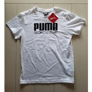 プーマ(PUMA)の新品☆PUMAの半袖Tシャツ♪サイズ 160 スポーツウェア(Tシャツ/カットソー)