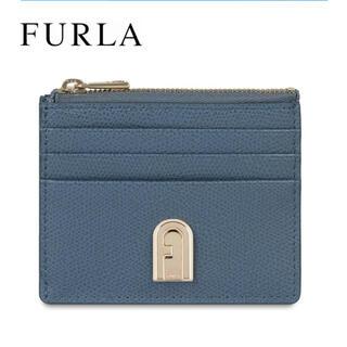 Furla - FURLA コインケース カードケース ブルー