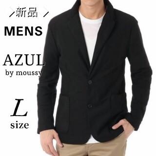AZUL by moussy - 【新品・未使用】アズールバイマウジー メンズ 鹿の子 テーラード ジャケット L