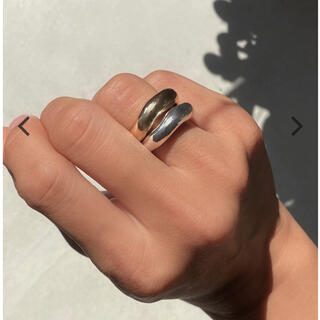 アリシアスタン(ALEXIA STAM)のALEXIASTAMTwo Colored Distorted Ring Set(リング(指輪))