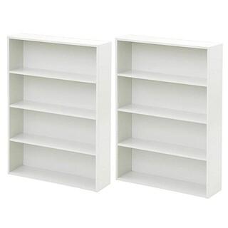 [送料無料][新品]カラーボックス本棚  幅60CM 2個セット(ホワイト)
