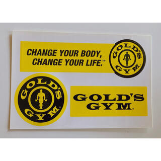 GOLD'S GYM ステッカー 非売品