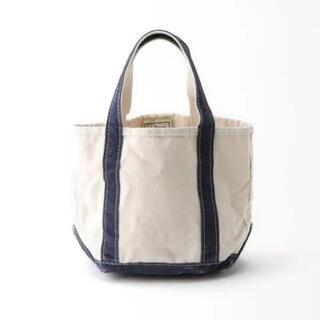 L'Appartement DEUXIEME CLASSE - アパルトモン L.L.Bean Canvas Tote Bag S ネイビー
