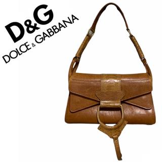 DOLCE&GABBANA - 💖お買い得💖ドルチェアンドガッバーナ クロコハンドバッグ