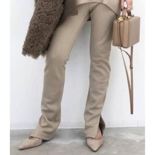 アパルトモンドゥーズィエムクラス(L'Appartement DEUXIEME CLASSE)のL'Appartementアパルトモン Wool Zip Leggings(レギンス/スパッツ)