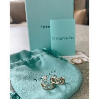 Tiffany & Co. - Tiffany&Co. アトラス ピアス❤️ティファニー