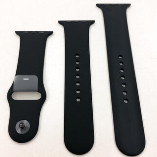 Apple Watch - アップルウォッチ スポーツバンド 黒 Apple Watch 42/44mm 用
