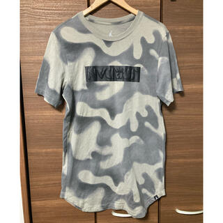 NIKE - ナイキ エアジョーダン カモ柄ボックスロゴTシャツ 半袖 ストリート