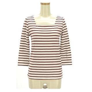 スライ(SLY)のSLY 2wayボーダースクエアカットソー 7分袖(Tシャツ(長袖/七分))