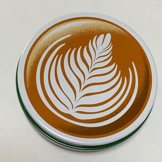 タリーズコーヒー(TULLY'S COFFEE)の2020年タリーズ福袋☆カフェラテ缶【缶のみ】(ノベルティグッズ)