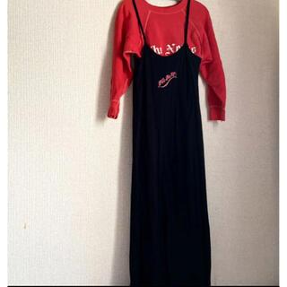 ロキエ(Lochie)のヴィンテージ キャミソールワンピース jantiques hooked toro(ロングワンピース/マキシワンピース)