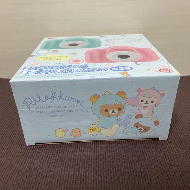 サンエックス(サンエックス)のリラックマ ミニデジタルトイカメラ エンタメ/ホビーのおもちゃ/ぬいぐるみ(キャラクターグッズ)の商品写真