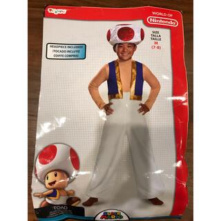 ニンテンドウ(任天堂)のキノピオ 衣装、コスチューム 子供男性用 スーパーマリオ(衣装一式)