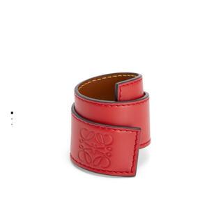 ロエベ(LOEWE)のloewe スラップ ブレスレット 赤 レッド Pomodoro(ブレスレット/バングル)