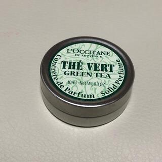 L'OCCITANE - ロクシタン練り香水 グリーンティー ソリッドパフューム 10ml