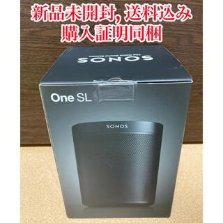 【新品未開封】Sonos One SL WiFI対応スピーカー 黒 国内正規品