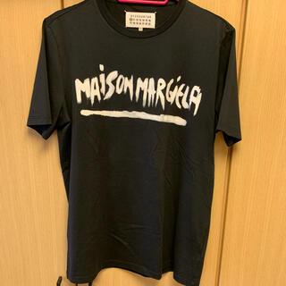 マルタンマルジェラ(Maison Martin Margiela)の正規未使用 Maison Margiela マルジェラ ペンキロゴ Tシャツ(Tシャツ/カットソー(半袖/袖なし))