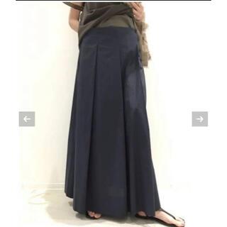 L'Appartement DEUXIEME CLASSE - L'Appartement CTN Pleats Skirt ネイビー 36