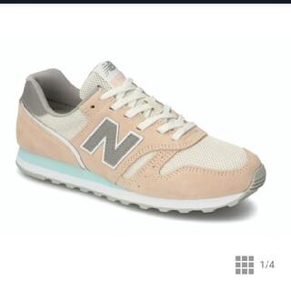New Balance - 【新品未使用】ニューバランス WL373  CP2 ピンク×グレー 24.5