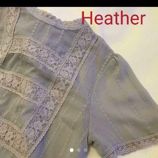 ヘザー(heather)のヘザー heather ブラウス 2way(シャツ/ブラウス(半袖/袖なし))
