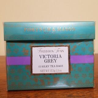 ヴィクトリアグレイ シルキーティーバッグ フォートナム&メイソン(茶)