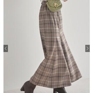 GRL - GRL チェックマーメイドスカート