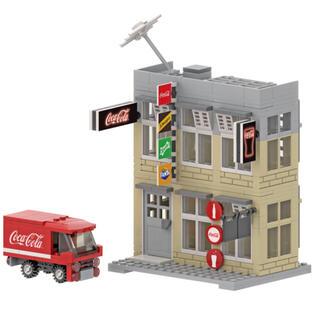コカコーラ(コカ・コーラ)の【香港限定】香港 コカ•コーラ   香港街並み模型(模型製作用品)