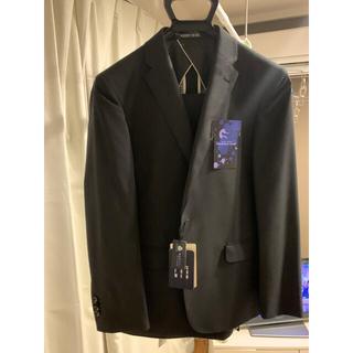 アオヤマ(青山)の新品タグ付 青山 A3(YA5と同じ)スリムセットアップスーツ ブラック(セットアップ)