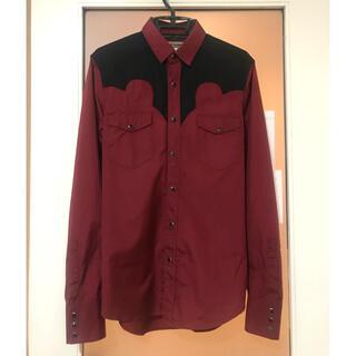 サンローラン(Saint Laurent)のサンローラン ウエスタン シャツ 38 美品(シャツ)